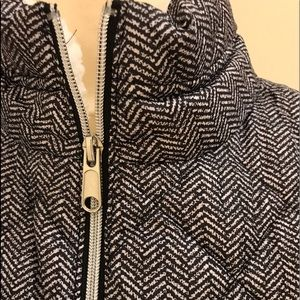 Warm zip up vest